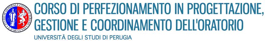 Corso di Perfezionamento in Progettazione, Gestione e Coordinamento dell'Oratorio